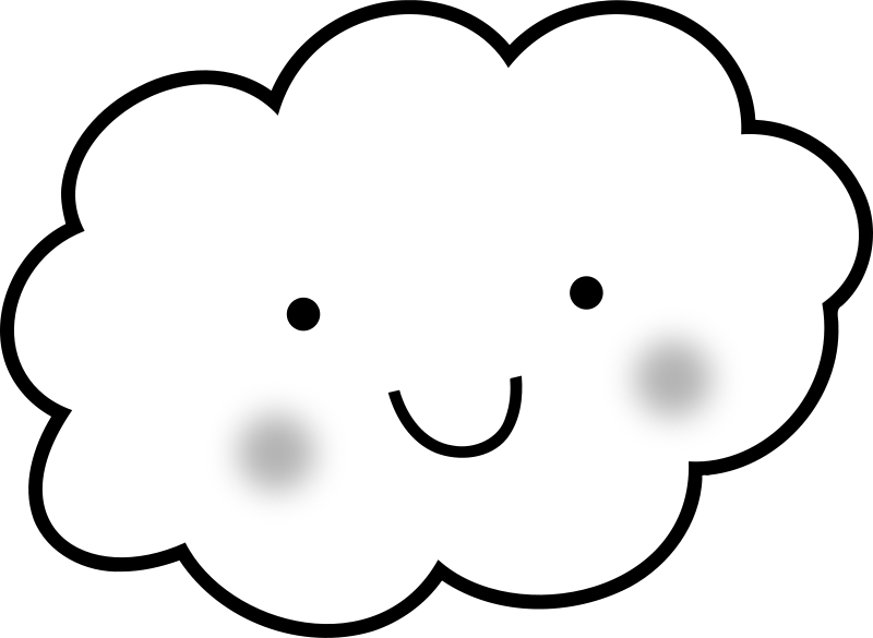 Clouds clipart cute On cloud Clip Free Download