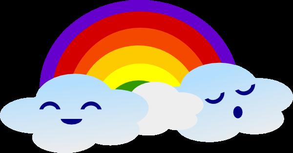 Clouds clipart cute cartoon Vectors Free smiling Graphics! Clipart