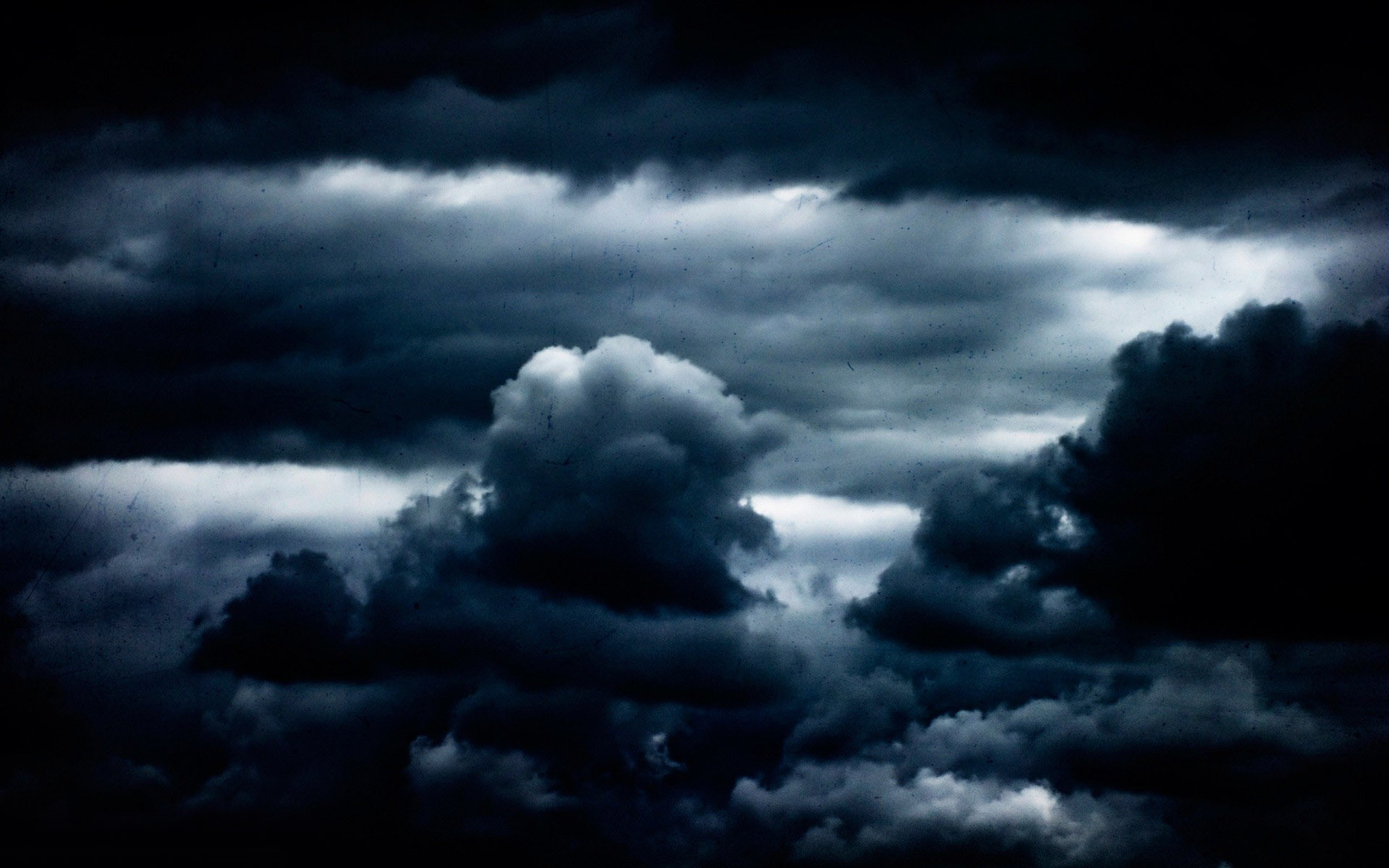Clouds clipart dark blue Clipart clouds with collection lightning