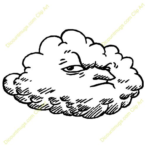 Clouds clipart dark cloud Clip Dark ClipartBay Cloud com
