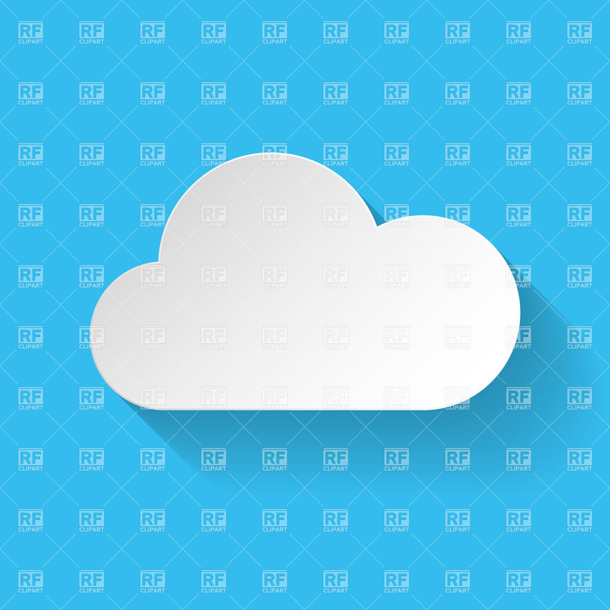 Clouds clipart flat Flat Download Clipart Flat Clouds
