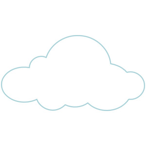 Clouds clipart flat Art cloud Download White bottom