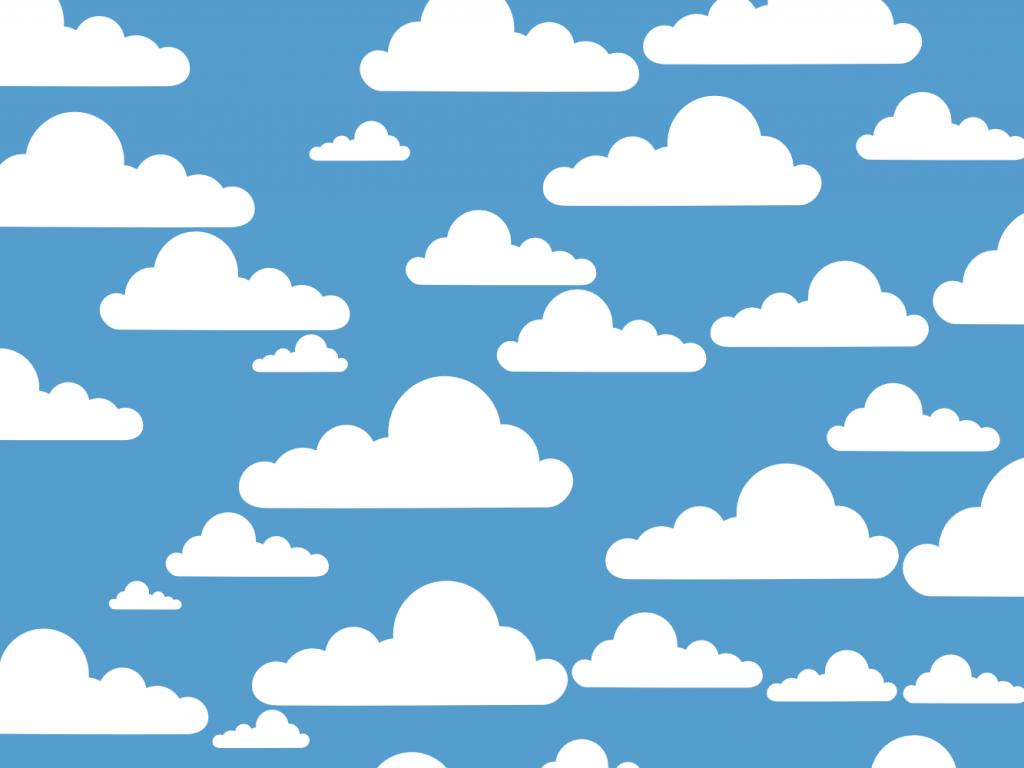 Clouds clipart line art Clipart art Clip smiling clipart