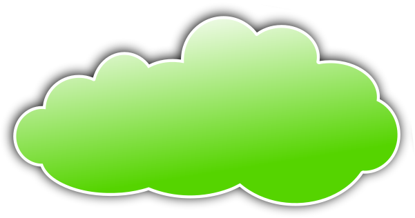 Clouds clipart green Green /weather/clouds/color_clouds/color_cloud_green collection clipart cloud