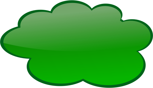 Clouds clipart green Clipart Cliparts · Sunday Cliparts