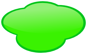 Clouds clipart green Green Cloud Page Download 12