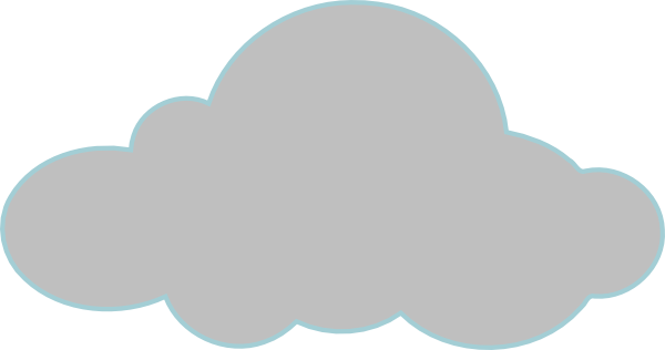 Clouds clipart grey cloud Download this com as: Clip