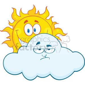Clouds clipart happy sun Sun Free  Free Sad
