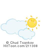 Clouds clipart happy sun Cloud Hit #1053224: a a
