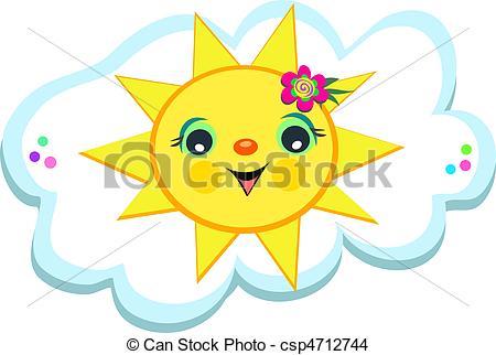Clouds clipart happy sun A Sun Sun Cloud is