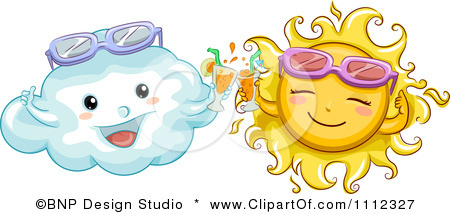 Clouds clipart happy sun Sunglasses Flickr Clipart Sun With