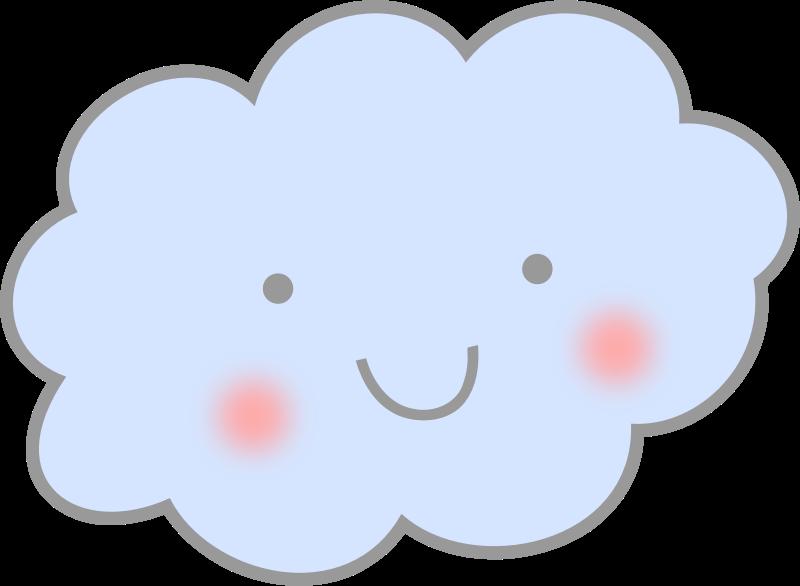 Clouds clipart kawaii (PNG) Clipart Cloud Cute IMAGE