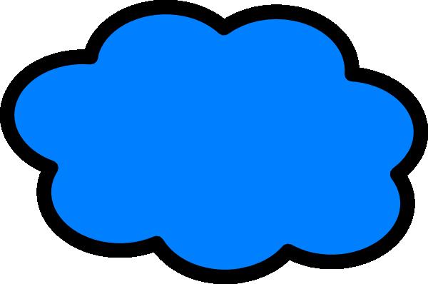Clouds clipart light blue Cloud Clip Blue Art Blue