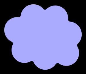 Clouds clipart light blue Clker Clip vector art Cloud