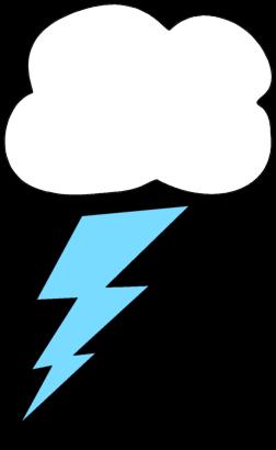 Clouds clipart lightning bolt Lightning Bolt Image Cloud Cloud