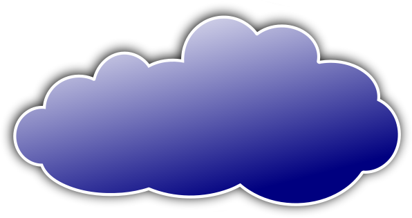 Clouds clipart colorful cloud Cloud /weather/clouds/color_clouds/color_cloud_blue cloud blue color
