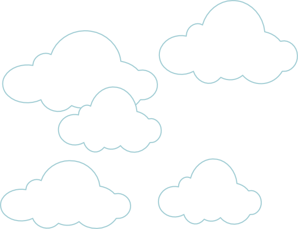 Clouds clipart simple Art image Download Clip as: