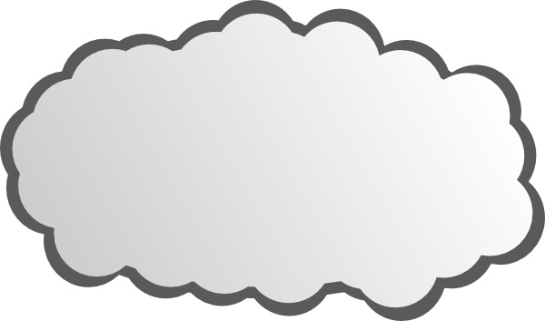 Clouds clipart simple Drawing clip Simple clip art
