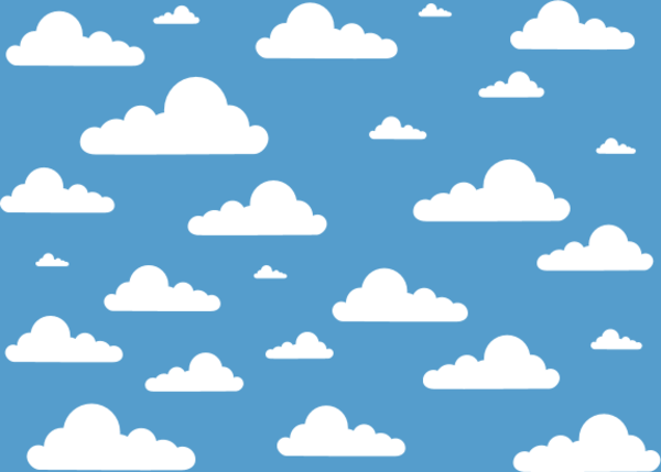 Clouds clipart sky background Vector 11710 Sky ClipartFan Clouds