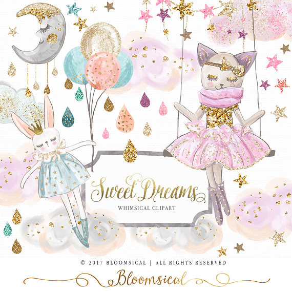 Clouds clipart whimsical Whimsical Clouds Hand Dreams Clip