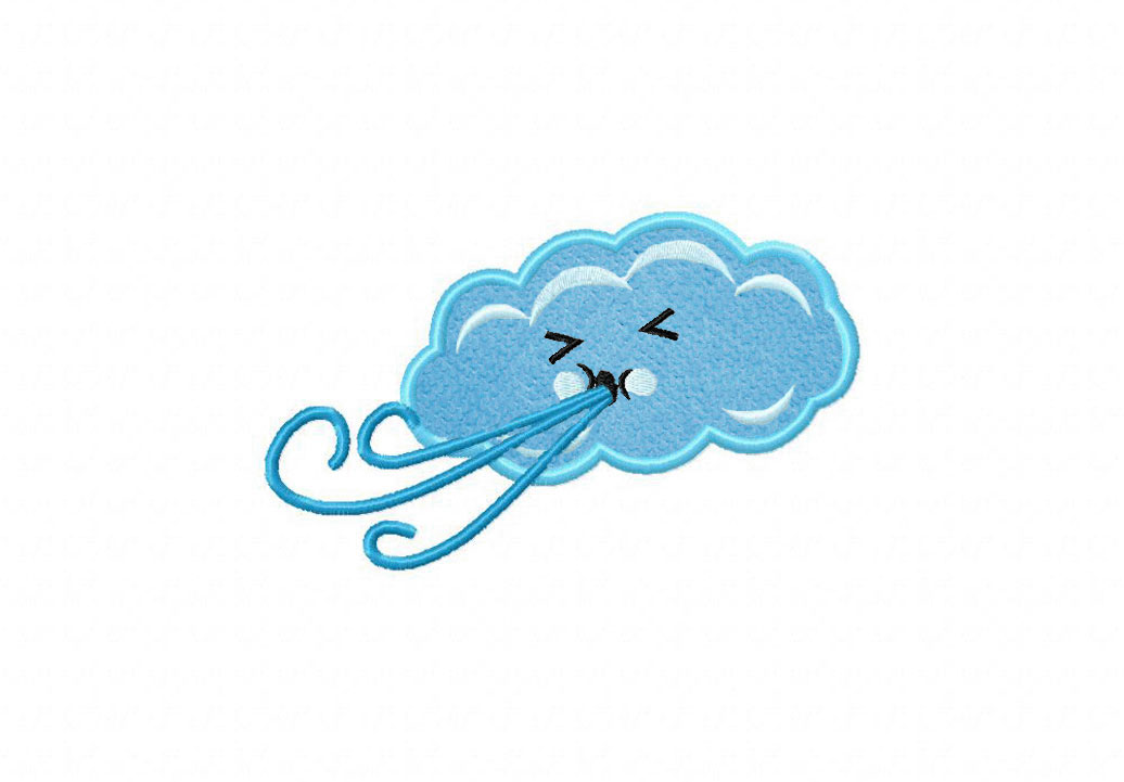 Wind clipart cute Clipart collection Cartoon blowing wind