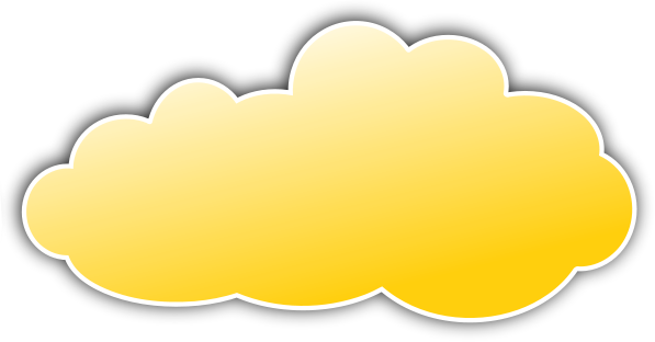 Clouds clipart yellow ClipartBay Yellow Art Clip Yellow