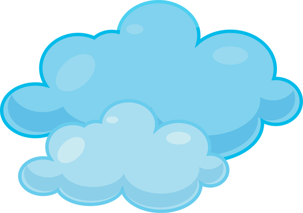 Clouds clipart Clipart on Clip  Clouds