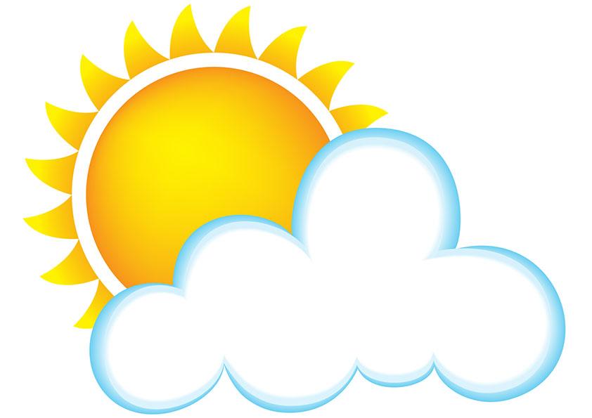 Heaven clipart sun cloud Clip With Clipart Sun Images