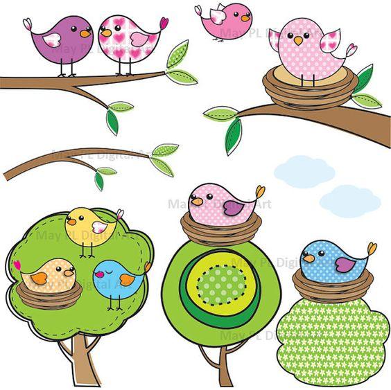 Clouds clipart bird Clipart Pinterest world's Colors The