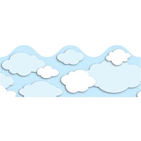Clouds clipart carson dellosa CLOUDS SCALLOPED com CARSON Walmart