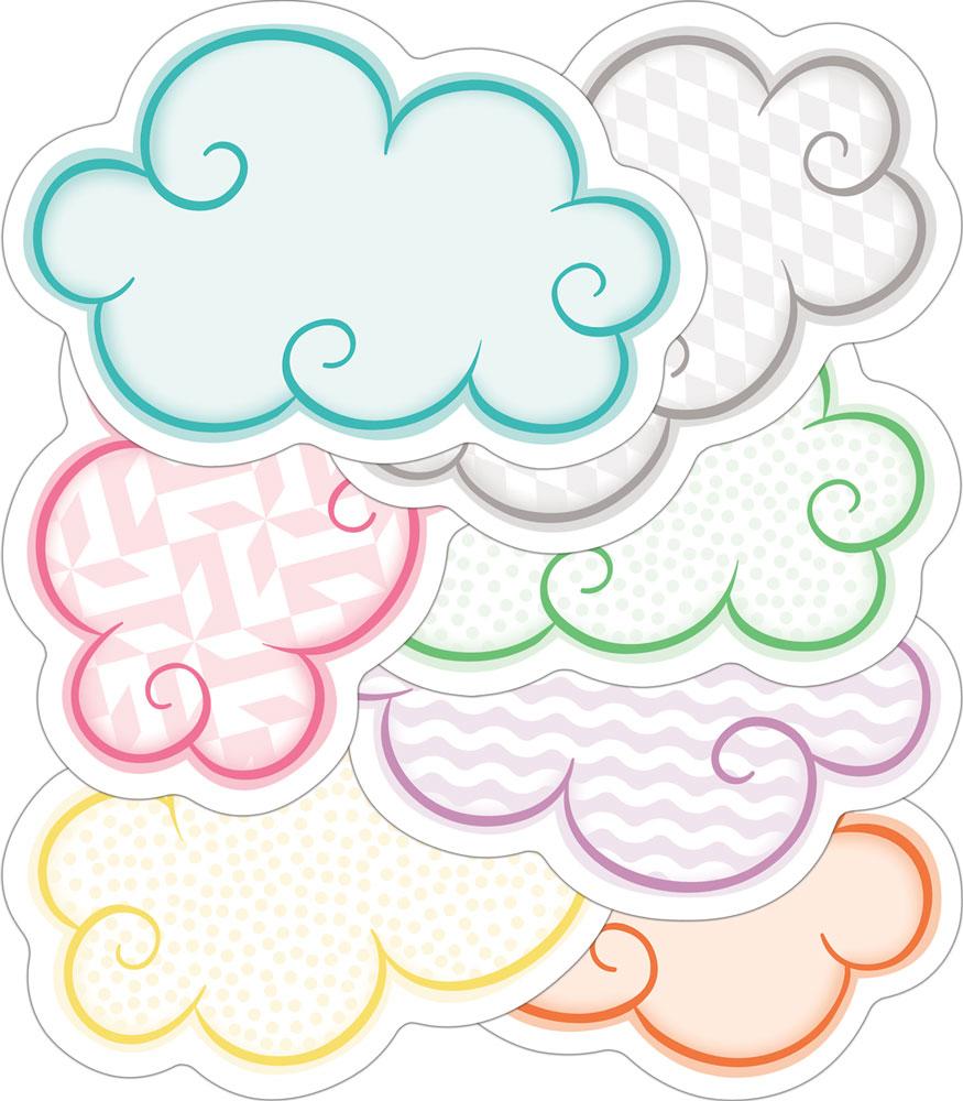 Clouds clipart carson dellosa Dellosa Publishing Grade Clouds Cut