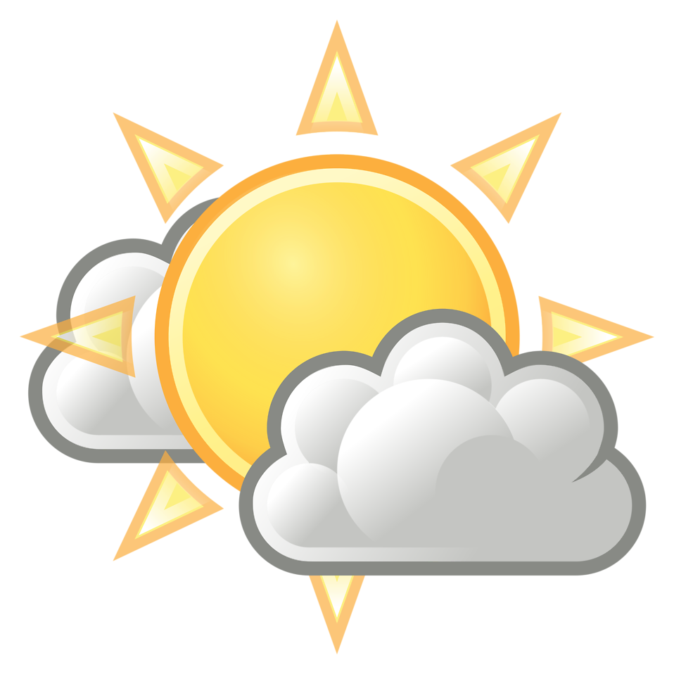Clouds clipart clear background Clouds Sun Sun Clip with