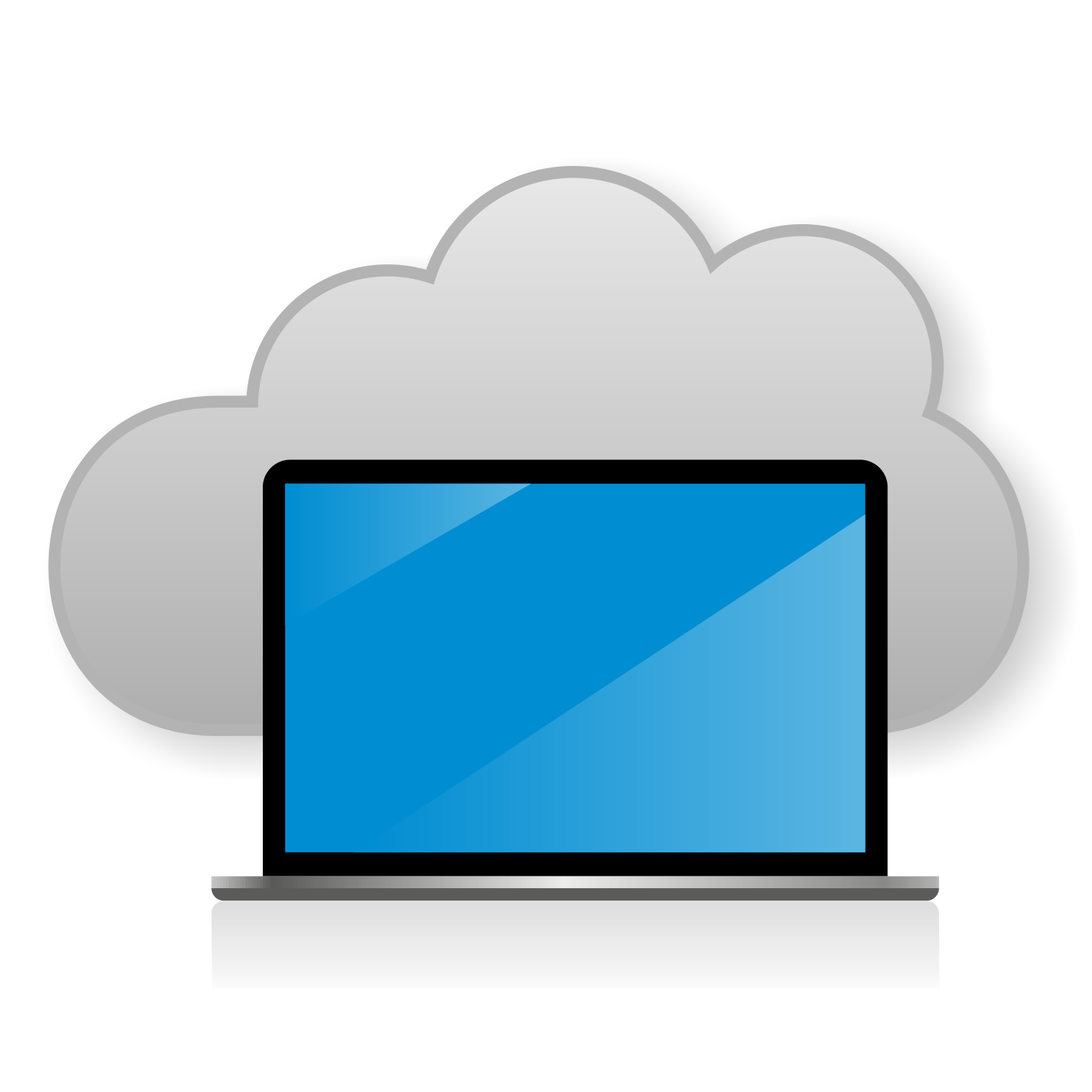 Clouds clipart cloud computing Computing concept for concept computing