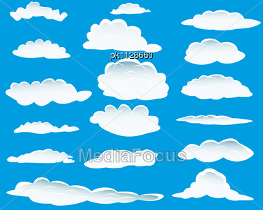 Clouds clipart cloud shape Of Image Photo: Clouds For