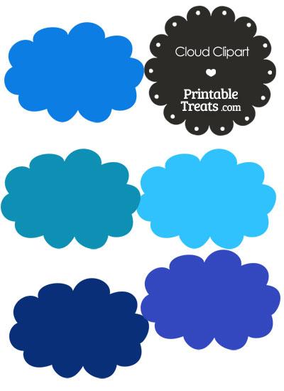 Clouds clipart dark blue Com Printable in com Treats