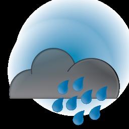 Clouds clipart dark cloud / Dark / Cloud 128px