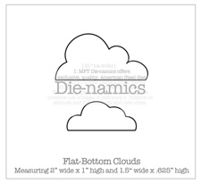 "Clouds clipart flat Day Grey's ""patterned"" die the"