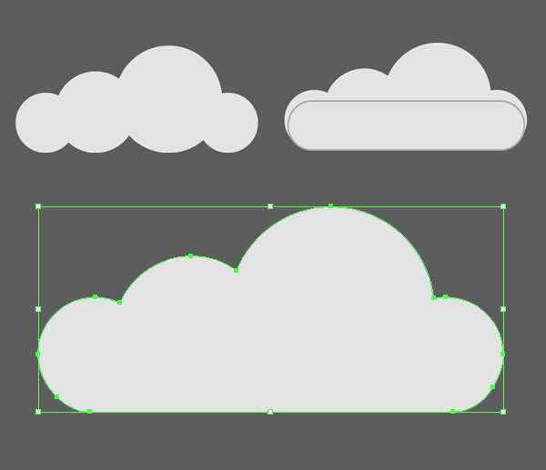 Clouds clipart flat Grayscale Create all Cityscape the