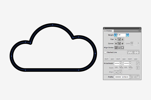Clouds clipart flat Cloud Zone White bottom background