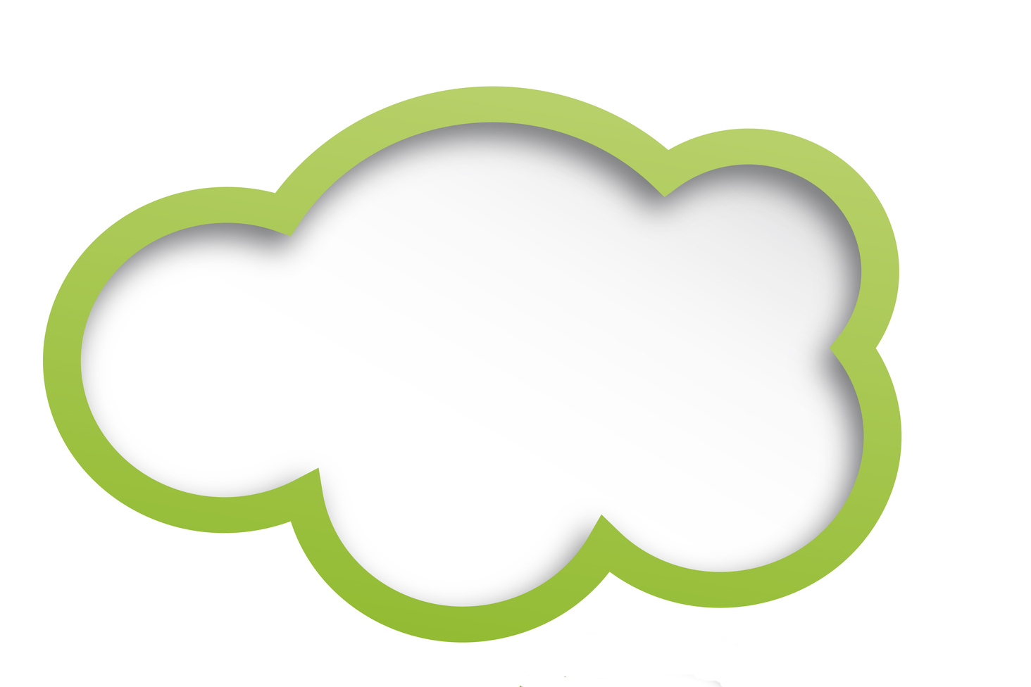 Clouds clipart green Move to green hit targets