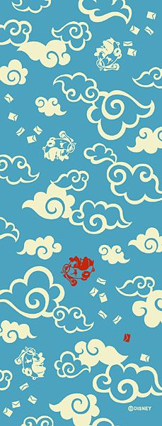 Clouds clipart japan And ~ dyed Classical_Clouds_Vectors_01 see