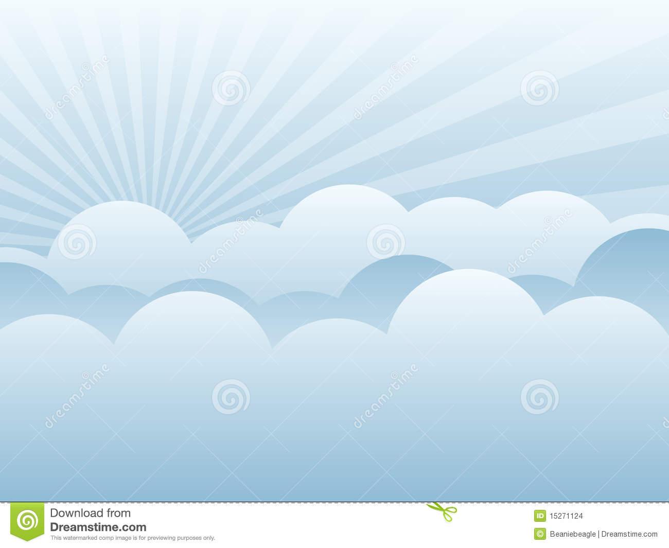 Clouds clipart light blue Stock EPS Images background Cloud