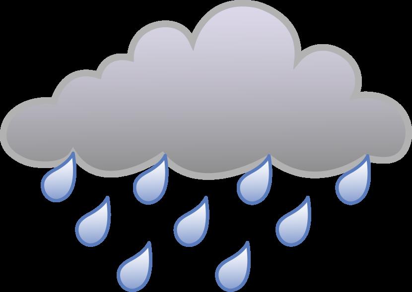 Clouds clipart sad Cloud Cloud And Rain Art
