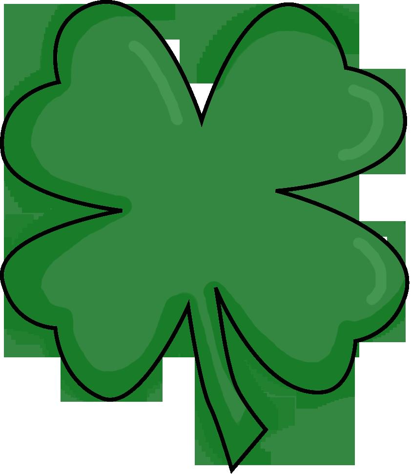 Luck clipart fun Clover leaf clover clipart 4