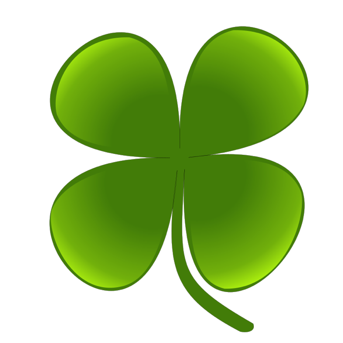 Green Day clipart vegetation Of 4 Clipart Four Clovers