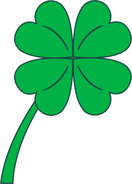 Green Day clipart vegetation Clover  Free art Free