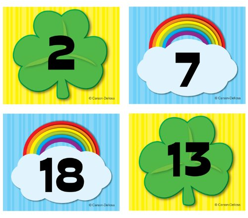 Clover clipart daun Publishing Shamrock/Rainbow Cover Up Dellosa
