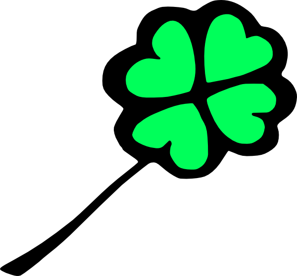 Clover clipart leprechaun Four art Leaf com Clker