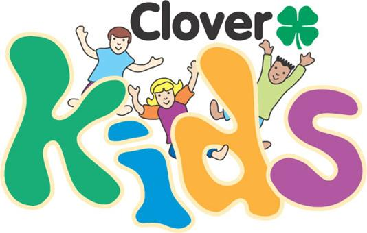 Clover clipart child 4H Wise Clover Kids County