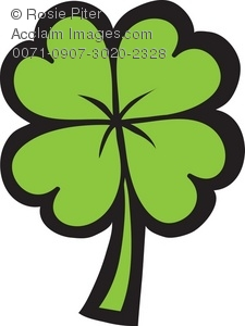 Clover clipart four leaf clover A Clover Art Of Four